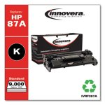 Innovera Remanufactured CF287A, 9000 Page-Yield, Black (IVRF287A)