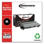 Innovera Remanufactured TN750 High-Yield Toner, 8000 Page, Black (IVRTN750)