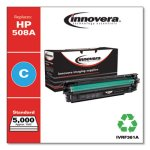Innovera Remanufactured CF361A Replacement for (HP 508A) Toner, Cyan (IVRF361A)