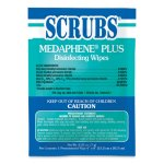Scrubs Medaphene Plus Disinfectant Wipes, To Go, 100 Single Packets (ITW96301)