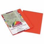 pacon-peacock-sulphite-construction-paper-76-lbs-9-x-12-orange-50-sheetspack-pacp6609