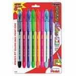 pentel-rsvp-ballpoint-stick-pen-assorted-ink-8-pack-penbk91crbp8m