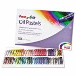 pentel-oil-pastel-set-with-carrying-case45-color-set-assorted-50set-penphn50
