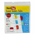 redi-tag-laser-printable-index-tabs-1-18-x-1-14-5-colors-375pack-rtg39020