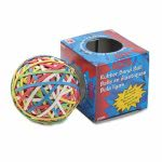 Acco Rubber Band Ball, Minimum 260 Assorted Rubber Bands (ACC72155)