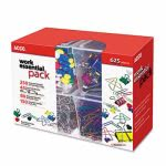 Clip Pack, 80 Ideal, 45 Binder, 350 Jumbo Paper Clips, 150 Push Pins (ACC76233)