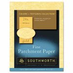 southworth-parchment-specialty-paper-gold-24-lbs-8-12-x-11-100box-soup994ck336