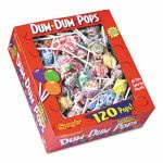 Spangler Dum-Dum-Pops, Assorted Flavors, Wrapped, 120-Count Box (SPA66)