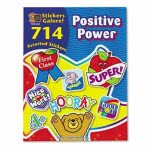 Teacher Created Resources Sticker Book, Positive Power, 714/Pack (TCR4225)