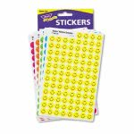 Trend Sticker Variety Pack, Neon Smiles, 2,500 Stickers (TEPT1942)