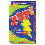 Trend Zap Math Card Game, Ages 7 and Up, 100 Cards, Each (TEPT76303)