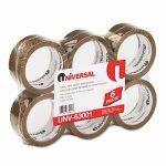 tan-box-sealing-tape-55-yards-6-rolls-per-pack-uvs-63001