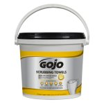 gojo-scrubbing-towels-hand-cleaning-170-bucket-2-buckets-carton-goj639802