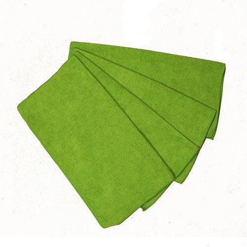 Green Microfiber Towel: Wholesale Green Microfiber Cloth