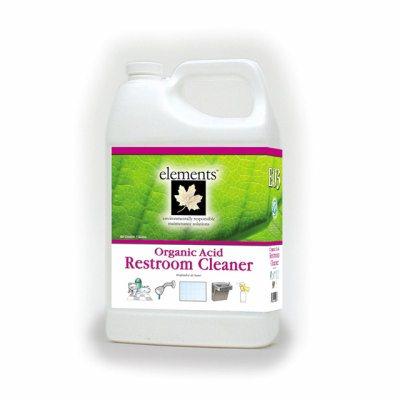 Elements Organic Acid Restroom Cleaner EMN Bathroom Cleaner - Bathroom cleaner liquid