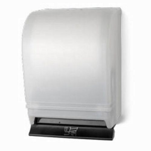 palmer push bar lever paper towel dispenser white cover pfotd021503 - Paper Towel Dispenser
