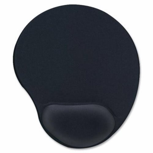 compucessory gel mouse pad wrist rest 9 x10 x1 black ccs55151