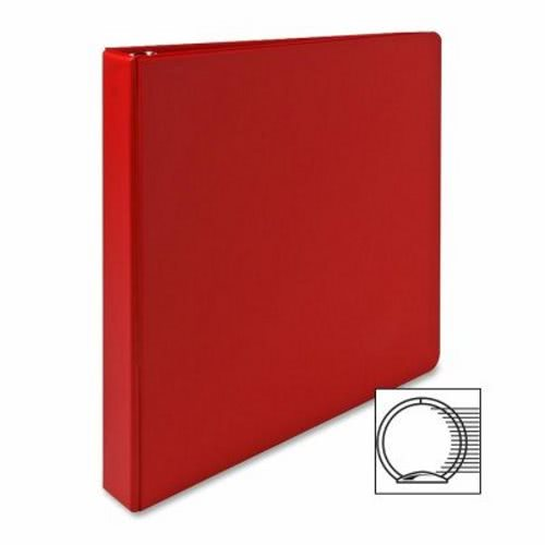 Sparco 3 Ring Binder 1 Quot Capacity 11 Quot X8 1 2 Quot Red Spr03310