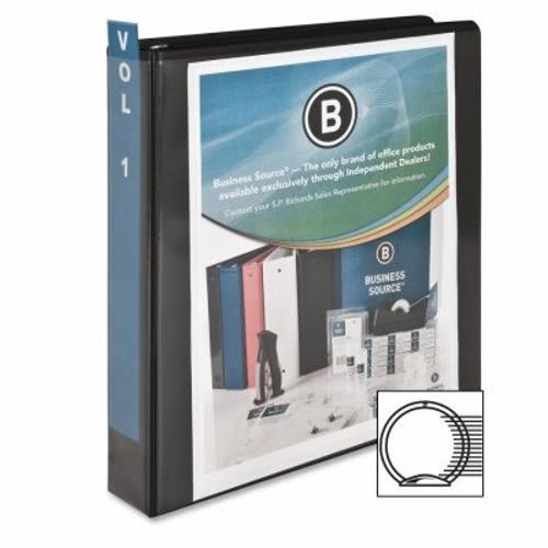 business source standard view binder 1 1 2 capacity 11 x8 1 2