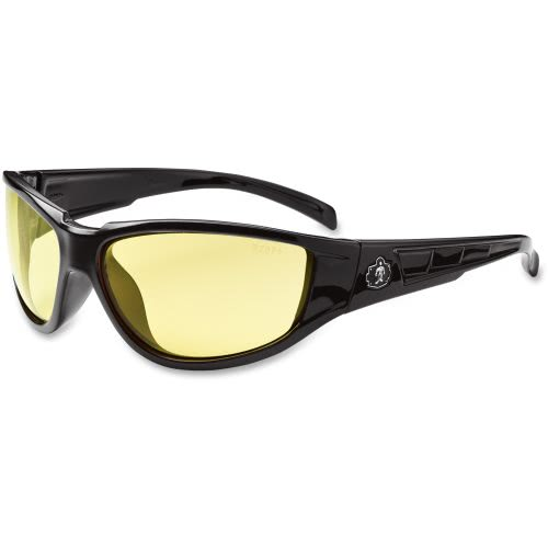 2eebdafc0b3d Ergodyne Ergodyne Njord Yellow Lens Safety Glasses
