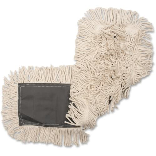 Genuine Joe Disposable Cotton Dust Mop Refill, 12 Dust Mops (GJO00485CT)