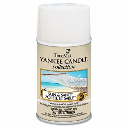 Yankee Candle Air Freshener Refills, Sun & Sand, 12 Refills (TMS1042839)
