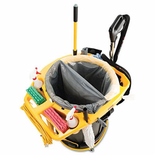 Rubbermaid Commercial Deluxe Rim Caddy Yellow Rcp9vdvrc4400