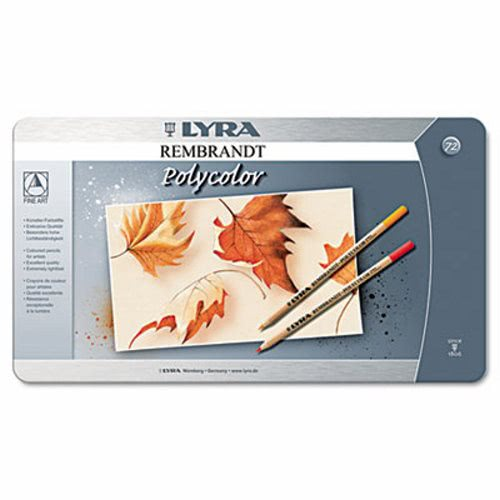 Lyra Artist Colored Woodcase Pencils Assorted 72 Per