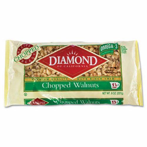 Diamond Of California Chopped Walnuts 8 Oz Bag Dfd04231