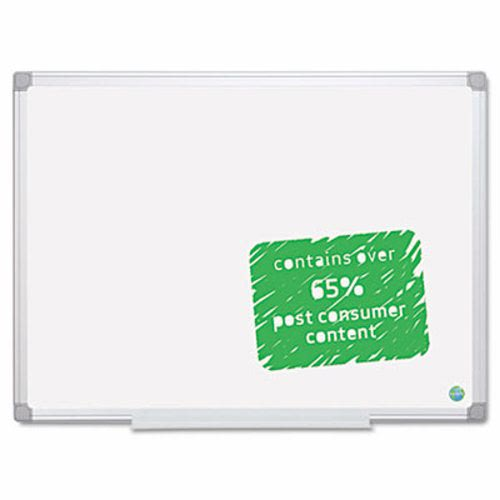 Mastervision Mastervision Earth Easy Clean Dry Erase Board 48 X 72 Aluminum Frame Bvcma2700790
