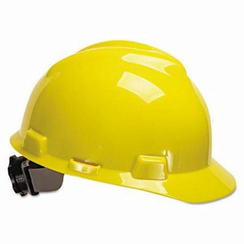 753d3eed3a7 Msa V-Gard Hard Hats w Fas-Trac Ratchet Suspension