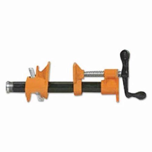 Pony pipe clamp fixture quot iron orange black silver ajc