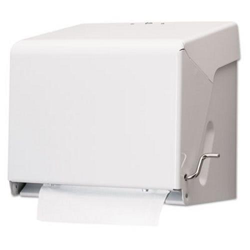 crank hardwound roll paper towel dispenser white sjmt800wh - Paper Towel Dispenser