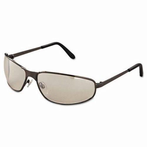Uvex Tomcat Safety Glasses, Gunmetal Frame, Indoor/Outdoor ...