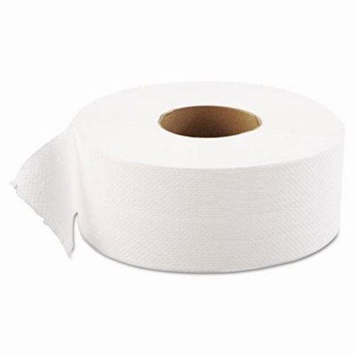 Gen Jumbo Jr. 1-Ply Toilet Paper, 12 Rolls GEN1511