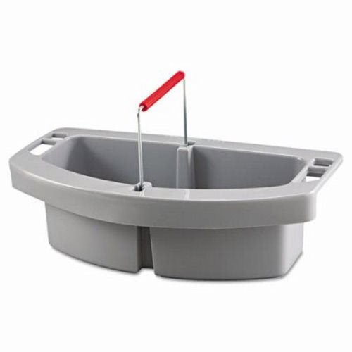 rubbermaid maid caddy for brute containers gray rcp gra