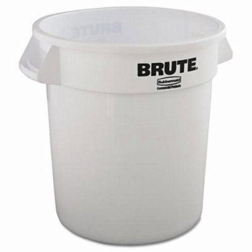 Rubbermaid Brute 10 Gallon White Garbage Can