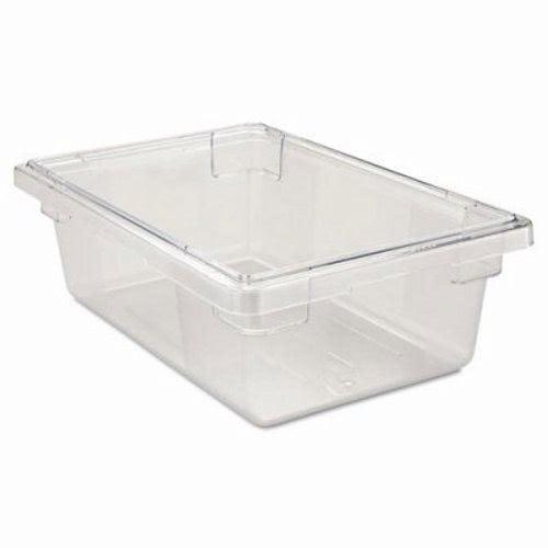 Rubbermaid 3309 3.5 Gallon Clear Food Storage Box (RCP 3309 CLE)  sc 1 st  Clean It Supply & Rubbermaid 3.5 Gallon Clear Food Storage Box RCP 3309 CLE