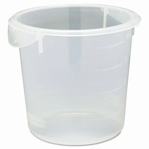 Rubbermaid Commercial Round Storage Containers 4qt 8 12dia x 7 3
