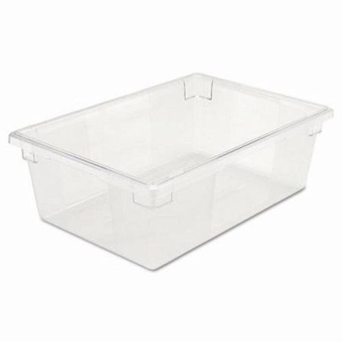 rubbermaid 125 gallon clear food storage box rcp cle