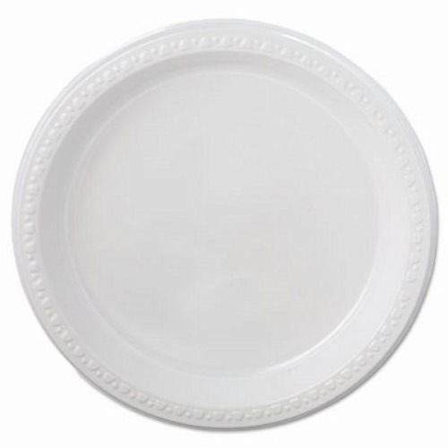 Chinet Plastic Plates 9  White Round Heavyweight 500 Plates (HUH81209)  sc 1 st  CleanItSupply.com & Chinet Plastic Plates 9