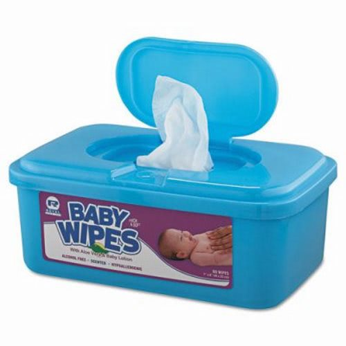 Royal Paper Baby Wipes Unscented 12 Tubs Rpp Rpbwu 80