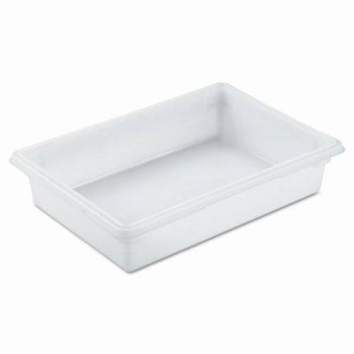 rubbermaid 85 gallon white food storage box rcp whi
