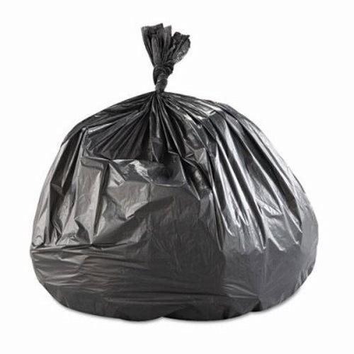 60 Gallon Black Trash Bags 43x48 22mic 150 Ibs S434822k