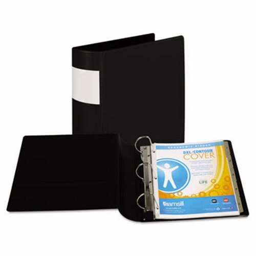 samsill top performance dxl locking d ring binder with label holder