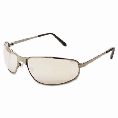 uvex tomcat safety glasses gun metal frame silver mirror lens uvxs2453