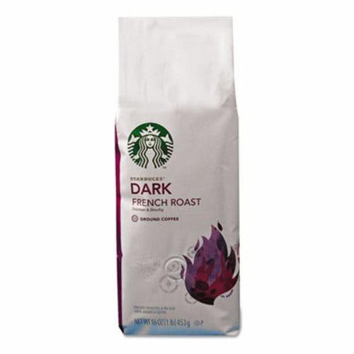 Starbucks Coffee French Roast Ground 1 Lb Bag SBK11018187