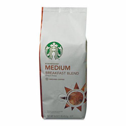 Starbucks Coffee Breakfast Blend Ground 1 Lb Bag SBK11018185