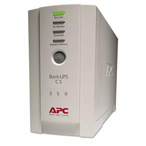 Apc Back-UPS CS Battery Backup System Six-Outlet 350 Volt-Amps (APWBK350)