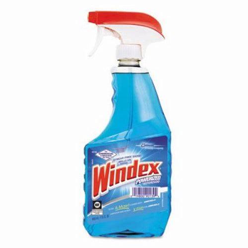 Windex Ammonia D Glass Cleaner 12 Trigger Spray Bottle